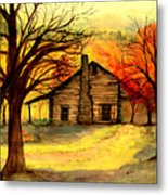 Kentucky Cabin Metal Print