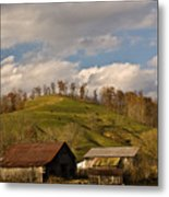 Kentucky Mountain Farmland Metal Print