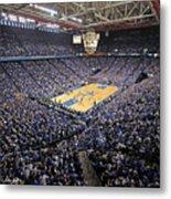 Kentucky Wildcats Rupp Arena Metal Print