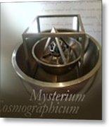 Kepler's Cosmological Model Metal Print