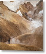 Kerlingafjoll Mountain Metal Print