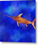Kessonius V1 - Amazing Swordfish Metal Print
