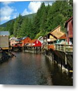 Ketchikan Creek Metal Print