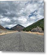Ketchum Road Metal Print