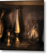 Kettle - Ready For A Drink Metal Print