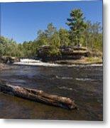 Kettle River Big Spring Falls 6 Metal Print
