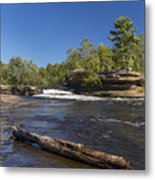 Kettle River Big Spring Falls 7 Metal Print
