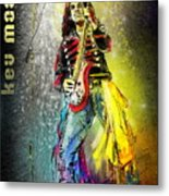 Kev Moore Metal Print