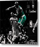 Kevin Garnett Not In Here Metal Print