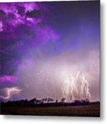 Kewl Nebraska Cg Lightning And Krawlers 038 Metal Print