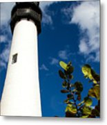 Key Biscayne Lighthouse, Florida Metal Print