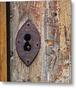 Key Hole Metal Print