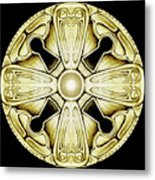 Key Knob Metal Print
