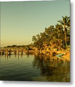 Key Largo Gold  Metal Print