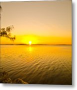 Key Largo Sunrise 2 Metal Print
