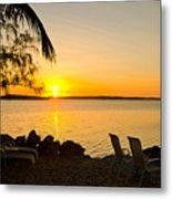 Key Largo Sunrise Metal Print