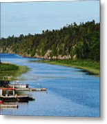 Key River Metal Print