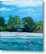 Key West Beach Metal Print