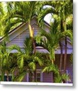 Key West Bungalow Metal Print