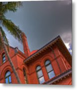 Key West Customs House Metal Print