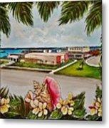 Key West High School From The 60's Era Metal Print