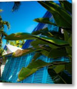 Key West House Metal Print