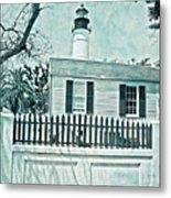Key West Lighthouse Impression Metal Print