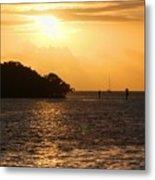 Key West Mangrove Sunrise Metal Print