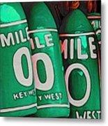 Key West Mile Zero Metal Print