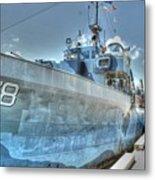 Key West Navy Ship Metal Print