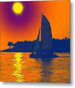 Key West Passion Metal Print