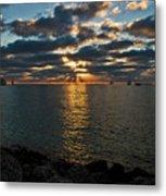 Key West Sunset 10 Metal Print
