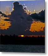 Key West Sunset Glory Metal Print