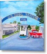 Key West U.s. Naval Station Metal Print