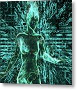 Keyed To The Matrix Metal Print