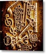 Keys Of A Symphonic Orchestra Metal Print