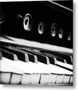 Keys Of Old Metal Print