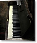Keys To The Music Metal Print