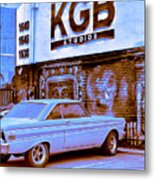 K G B Studios Los Angeles Metal Print