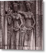Khmer Court Dancers Metal Print