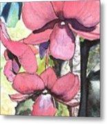 Kiahuna Orchids Metal Print