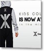 Kids Jumpsuits Metal Print