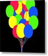 Kids Korner Balloons Metal Print