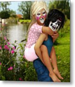 Kids Wanna Have Fun Metal Print