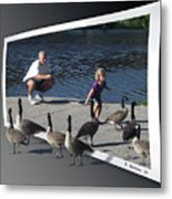 Kids Will Be Kids 2 Metal Print