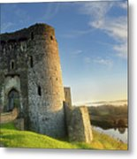 Kidwelly Castle 3 Metal Print