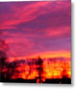 Kiera's Sunset Metal Print