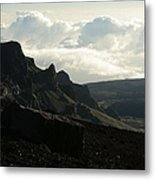 Kilakila O Haleakala Ala Hea Ka La The Sacred House Of The Sun Metal Print