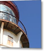Kilauea Lighthouse Against The Sky Metal Print