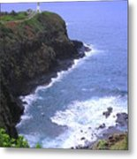 Kilauea Lighthouse And Bird Sanctuary Metal Print